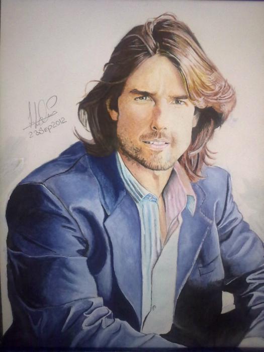 Tom Cruise par Sahar